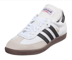 Adidas Men's Samba Classic Indoor Soccer Shoe (White)