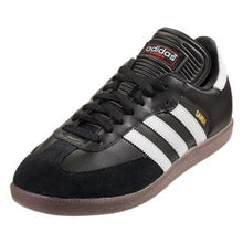 Load image into Gallery viewer, adidas Men's Samba Classic Indoor Soccer Shoe (Black)