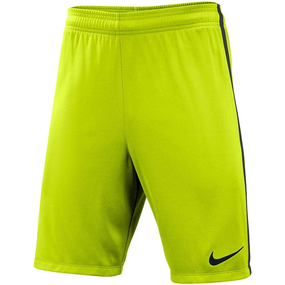 Nike Men's Dry-Fit Soccer Shorts (Hi-Vis Yellow)