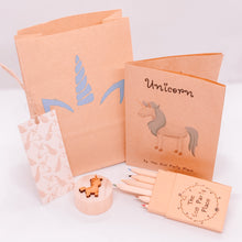 Load image into Gallery viewer, Unicorn plastic free party bag The Eco Party Place