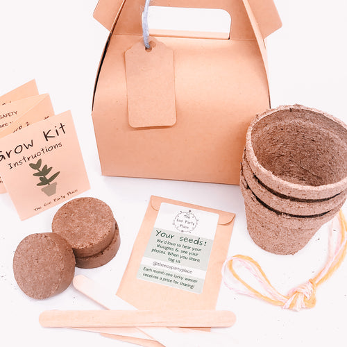 The Eco Party Place Grow Kit Party Bag