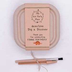 The Eco Party Place  Gemstone Dig and Discover Party Bag