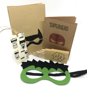 The Eco Party Place Superhero plastic free party bag . - Hulk