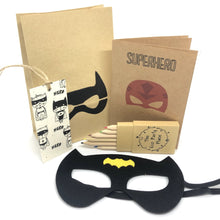 Load image into Gallery viewer, The Eco Party Place Superhero plastic free party bag - Bat Woman