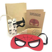 Load image into Gallery viewer, The Eco Party Place Superhero plastic free party bag - Spiderman