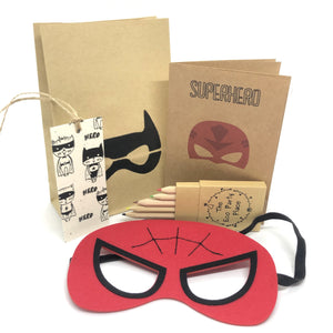 The Eco Party Place Superhero plastic free party bag - Spiderman