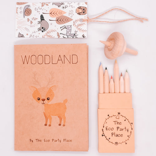The Eco Party Place Woodland plastic free party bag
