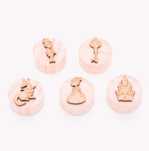 Wooden Play Dough Stamps (Set of 5)