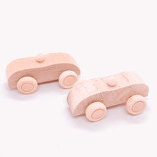 Load image into Gallery viewer, The Eco Party Place small wooden car - plastic free party bag