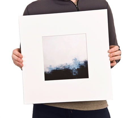 Mounted limited edition print