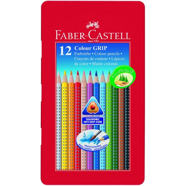 Faber-Castell Colour Pencils x 12