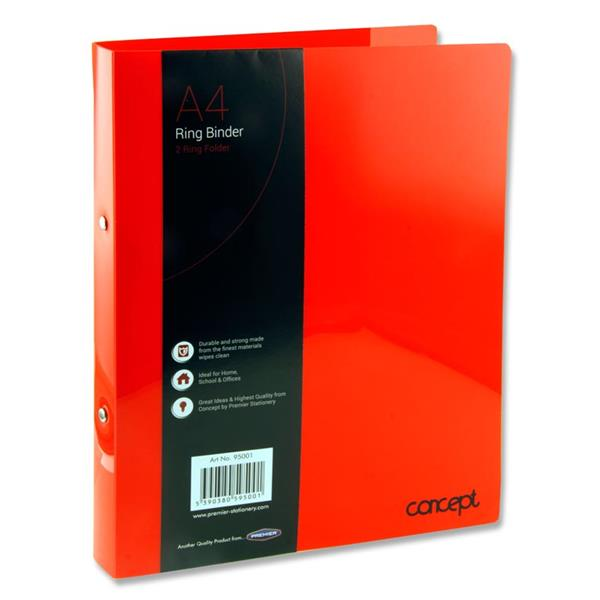Ring BInder A4 Asst. Colours