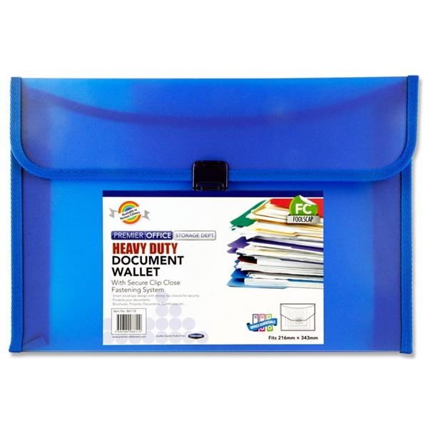 Document Wallet Heavy Duty