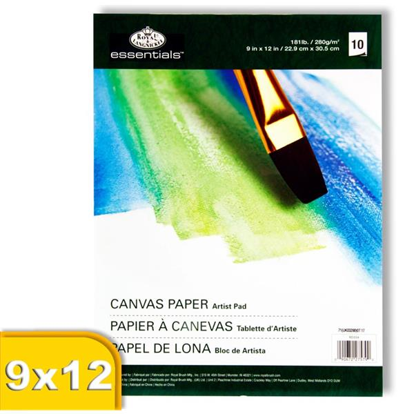 Canvas Paper Artist Pad - 10 Sheets