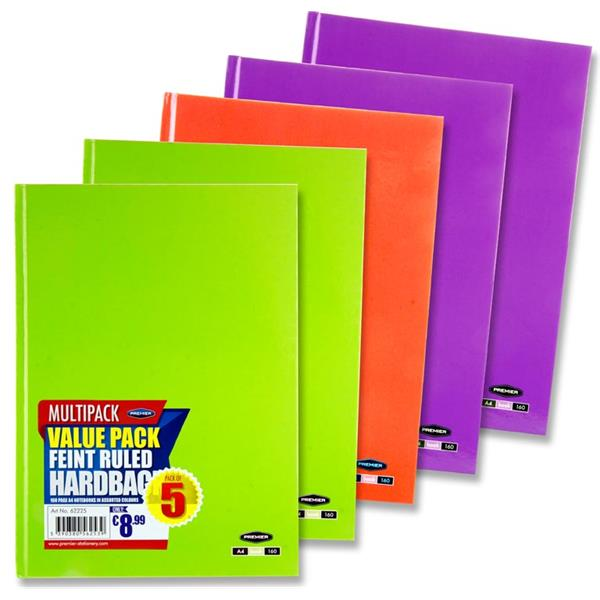 Notebooks Hardcover A4 G/O/P