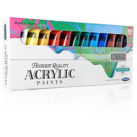 Acrylic Paints 12x36ml