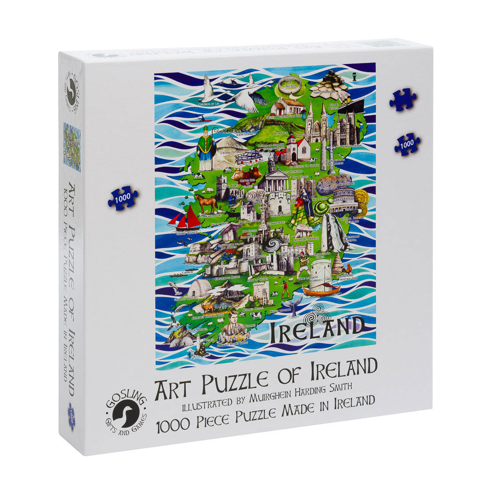 Art Puzzle of Ireland Jigsaw Puzzle