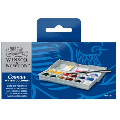 Cotman Watercolour Box