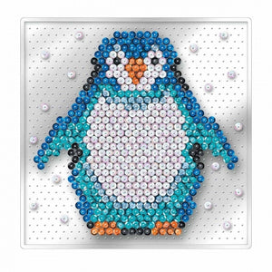 Sequin Art - Penguin