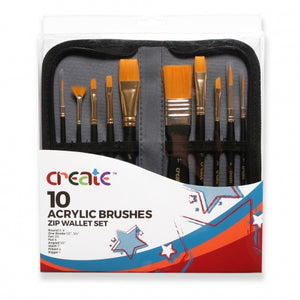 Acrylic Brush Set