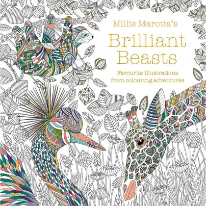 Colouring Book: Brilliant Beasts
