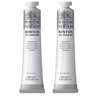 W&N Winton Oil - Titanium White