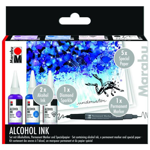 ALCOHOL INK SET Underwater