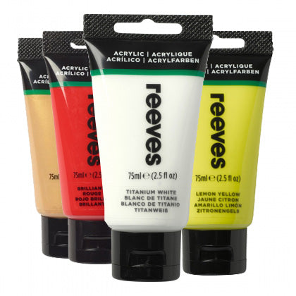 Reeves Fine Acrylic Asst. Colours