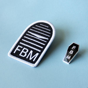 Future's Bright Man Patch & Pin