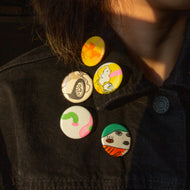Recycled Print Pins