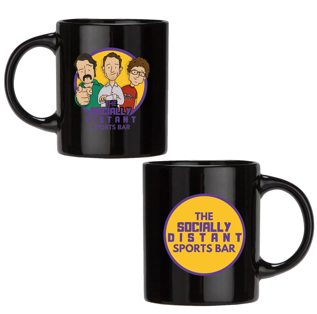Socially Distant Sports Bar Mug
