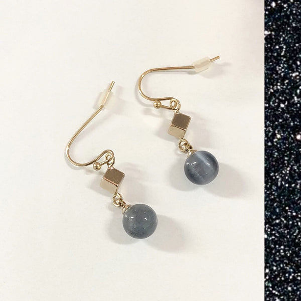 Ash Moonstones Earrings