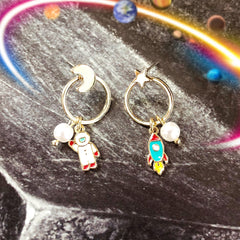 dcb0e72d64f Astronomy Space Earrings