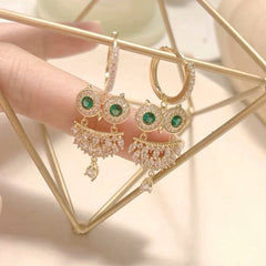 Audrey Wise Owl Earrings