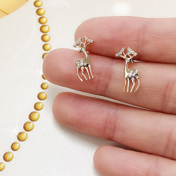Santa's Reindeer Earrings