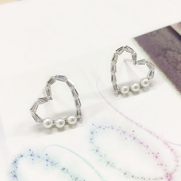 Audrey Heart Shaped Earrings