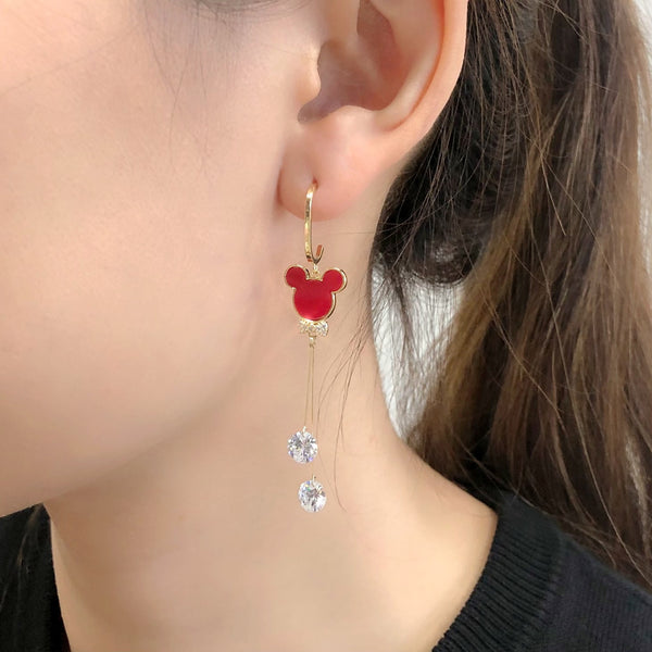 Audrey Mickey Earrings