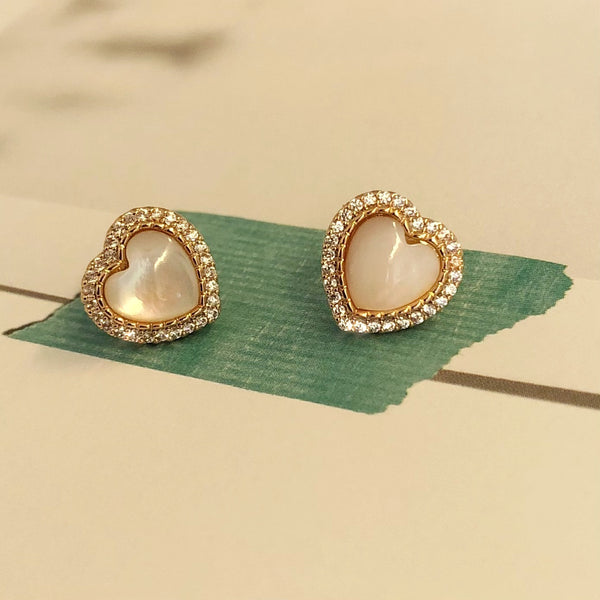 Audrey Heartshaped Earrings