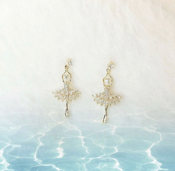 Dancing Ballerina Earrings