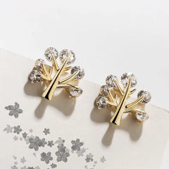 Audrey Tree Plant Earrings
