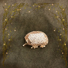 Hedgehog Brooch