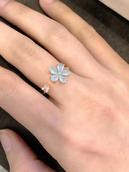 Audrey Spring Flower Ring