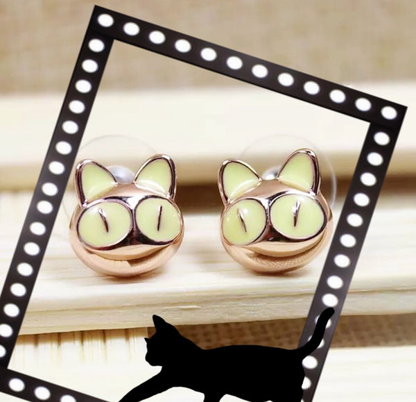 Purrfect Cat Earrings