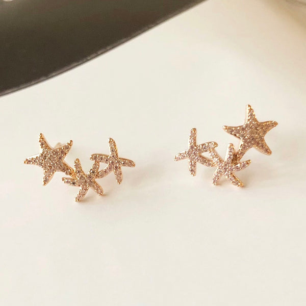 Audrey Starfish Earrings
