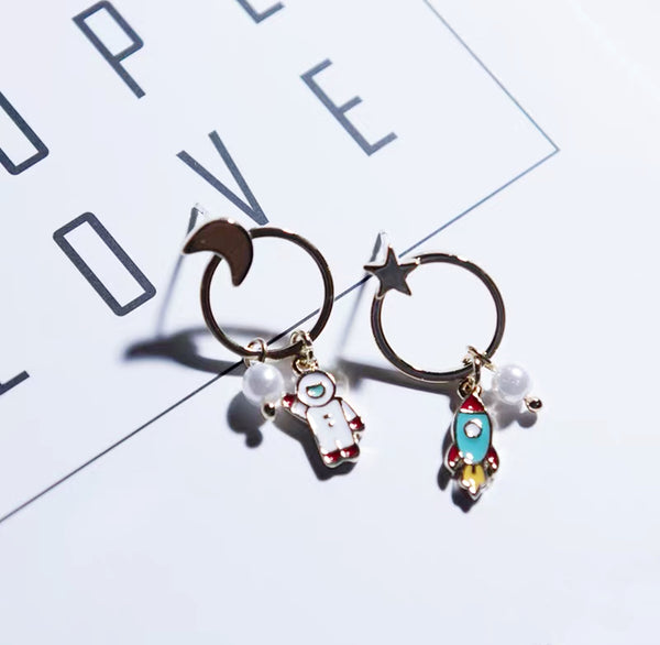 Astronomy Space Earrings