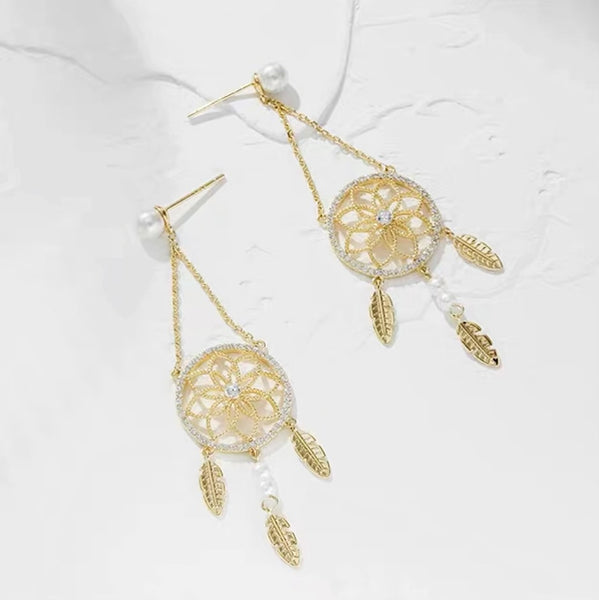 Audrey Dream Catcher Earrings