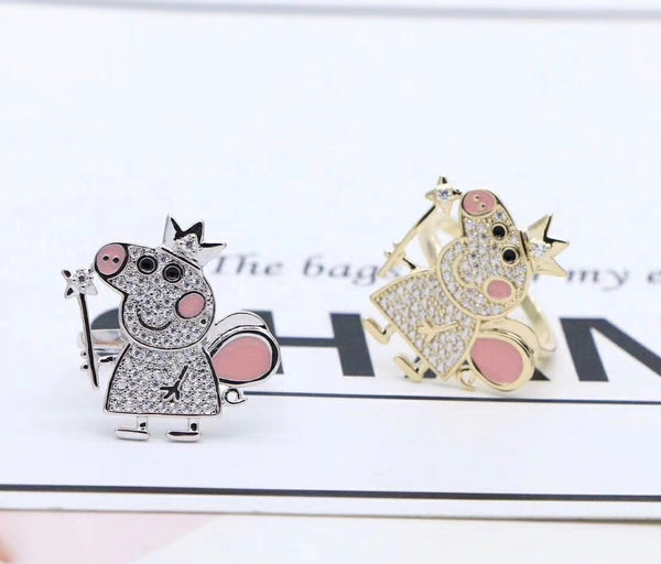 Peppa Pig Adjustable Ring