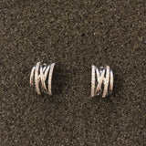 Audrey Linear Cuff Earrings