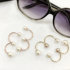 Curvex Pearl Earrings
