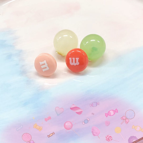 M&M earrings